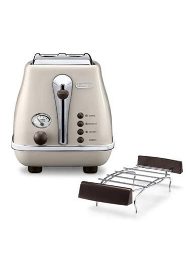 Delonghi Ctov 2103.Bg Icona Vintage Krem Ekmek Kızartma Makinesi Renkli